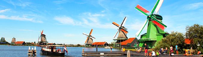 zaanse-schans-windmills