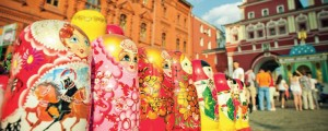 Babushka Dolls in Moscow