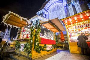 Brussels Christmas Market.