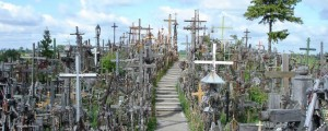 Hill of Crosses in  - Lithuania