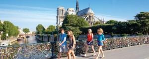 Love Bridge Walk- Paris