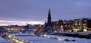 Snowy - Edinburgh