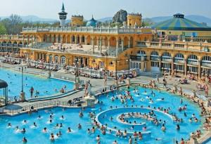 Szechenyi Baths - Budapest