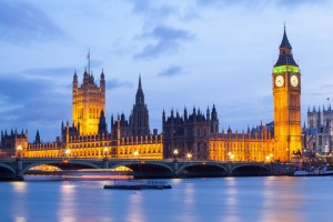 Westminster & Big Ben -  London